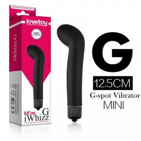 Lovetoy Black Bending G-spot Bullet Vibrator Medical Silicone Vibrating Massager