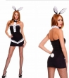 headwear dress Sexy lingerie cosplay rabbit uniforms sexy costumes Exotic lingerie
