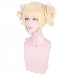 Himiko Toga Mid-Length Cosplay Wig Synthetic