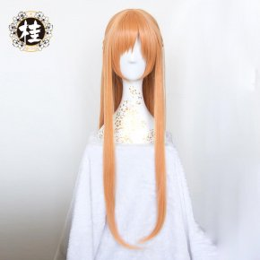YuuKi Asuna Cosplay Wig Sword Art Online 2 For Women Resistant Synthetic Straight