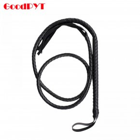 200cm Long Soft Leather Horse Whip Sex Games Spanking Whip Slave Queen Costume Rolep