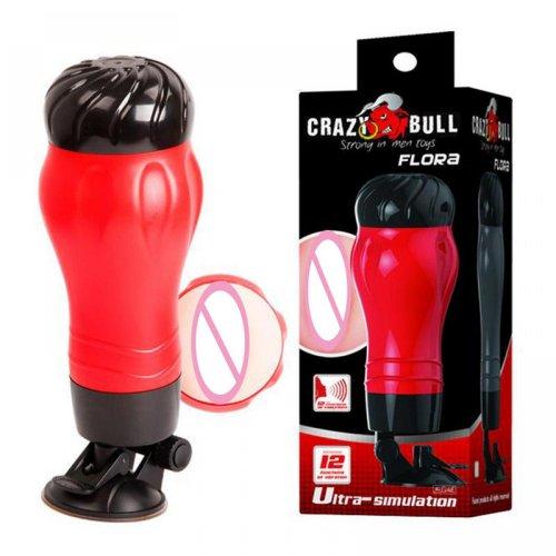 Baile 12 Modes Strong Vibration Crazy Bull MAURICE Ultra-simulation Vagina Puss