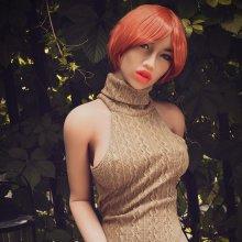 166cm 5ft5 Short Hair Redhead Love Doll