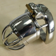 Male CB chastity device CB belt stainless steel metal catheter penis lock chastit