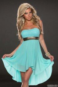 light bluesexy dress