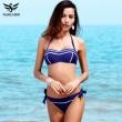 NAKIAEOI 2017 New Sexy Bandeau Bikinis Women Swimsuit Swimwear female Halter Bra