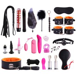 23pcs Of Sex Toys Kit BDSM Bondage Toy Flirt Games For Couples
