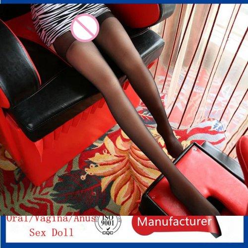 All the silica gel 3d skeleton legs big doll inflatable 110 cm entity doll legs