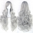 20 Colors 80 cm Long Wavy Cosplay Wigs Women Resistant Cosplay Hair