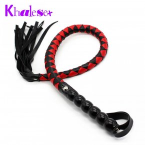 Sex Toys 99cm Soft PU Leather Spanking Paddle Fetish Whip Flogger Sex Product for