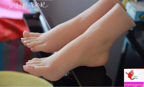 NEW sexy girls foot fetish feet lover toys clones model foot fetish sex dolls produ