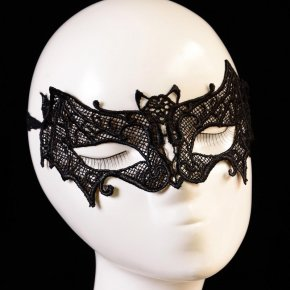 Black Lace Half face mask Sexy female Hollow Masquerade Carnival Party Funny Venetia