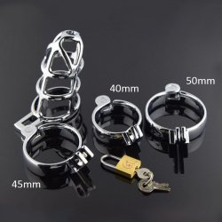 CS360 Penis Ring Penis Cage sex toys for men, metal Cock Cage with Lock sex product