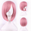 fashion women hair daily wear wigs cheap resistant synthetic wig short pink bobo