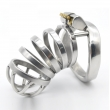 Stainless Steel Super long Male Chastity Device Metal Chastity Belt sex toy CD106