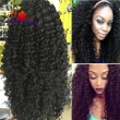 7A Glueless Synthetic Lace Front Wig For Black Women Kinky Curly Front Lace Wig