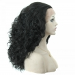 "Synthetic Lace Front Wig Women 22"" Long Curly Highlight body wavy Cheap Synthetic"