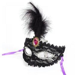 2016 New Party Masks Masquerade Masks Halloween Christmas Feather Mask Fashion Women