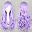 MCOSER Fashion 70cm Long Wave Classical Purple Synthetic High Quality Women Part