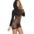 NEW Black sexy woman lingerie erotic fishnet hollow out ropa erotica hot sale ladies