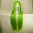 HAIRJOY Top Quality Light Green Cosplay Wig Woman Wigs 120cm Long Straight Anima