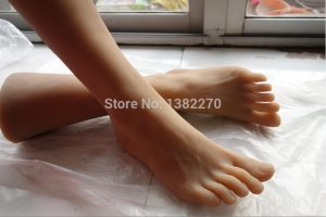 New arrival foot fetish toys real foot pussy clone feet fetish fake feet sex rubber