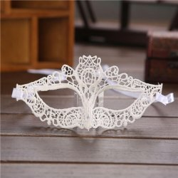 4 style Halloween Masquerade Sexy Lady Mask Black White Lace Mask hollow out Catwoma