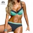 PLAVKY 2017 Retro Sexy Patchwork Biquini Swim Beach Wear Bathing Suit Swimsuit Swimw