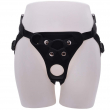Adjustable Strap-On Dildo Harness, Ferch Double Hole Pegging Harness Leather Soft Ring Belt