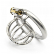 Super Small Male Chastity Device Sex Toys For Men Stainless Steel Chastity Cage