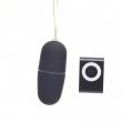 Waterproof Portable Wireless MP3 Vibrators Remote Control Women Vibrating Egg Bod