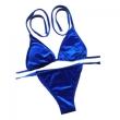 MisShow Sexy Velvet Bikini Swimwear Women Swimsuit Bathing Suit Halter Strips Bikini