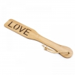 New Arrival Spank Paddle LOVE Bdsm Bondage Bamboo Whip Torture Gear Sex Toy Flogger