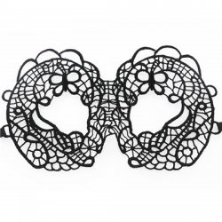 1 Pcs Black Party Lace Mask Girls Women Sexy Lady Mask for Masquerade Cosplay Part