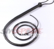 2m long faux leather bull whip for sex game, adult sex product flirting toys handma