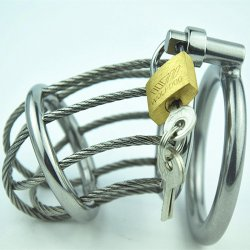 New Sex Toys For Men Male Chastity Belt Penis Rings Stainless Steel Male Chasti