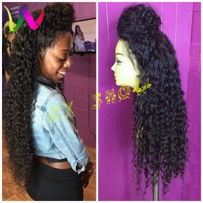 Synthetic Lace Front Wig For Black Women Afro Synthetic Wigs Lace Front Cheap Long