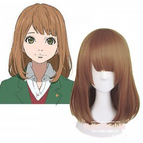 Japan Anime Orange Takamiya Naho Cosplay Wig Women Synthetic BOBO COS Party Lolita