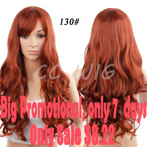 28'' Long Black Red Wigs For Black Women Cheap Synthetic Wigs For Black Womne Black