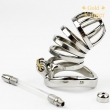 New Male Chastity Device Long Bird Cage Stainless Steel Chastity Belt CD101-2