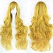 20 Colors Long Wavy Cosplay Wigs Women Resistant Cosplay Hair Pink Red Brown Black