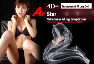 Big transparent inflatable sex doll male stockings legs love doll for men