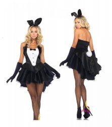 Rabbit Sets Club Cosplay Uniforms Clothing Sets Sexy Underwear Bunny Ears Adult