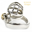 Stainless Steel Super Small Male Chastity Device Metal Chastity Belt CD099-1