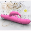 Waterproof Multispeed Rose Rabbit Dildo Vibrator Double G-spot Massager Adult Sex