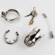 Anti off Spiked ring Chastity belt device men chastity belt stainless steel metal