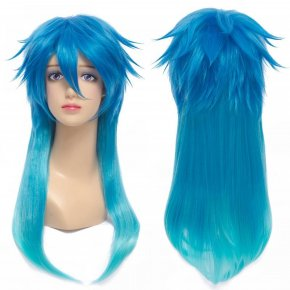 Anime Dramatical Murder DMMD Seragaki Aoba Cosplay Wig Two Tone Blue Ombre Synthetic
