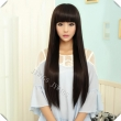 28 Inch Sexy Lady Long Straight Women Wig Cosplay Synthetic Fast Shipping Cute Fring