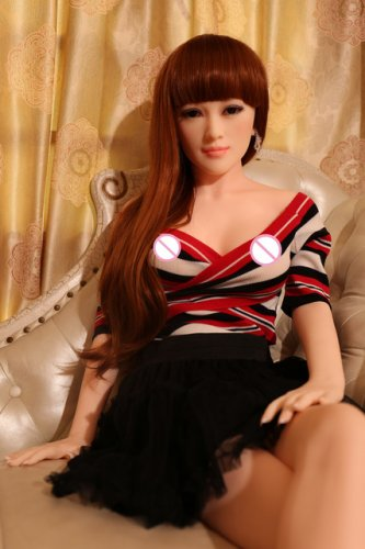 New 165cm sexy inflatable silicone sex doll chubby real full metal skeleton for