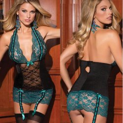 Xmas New Erotic Sexy Underwear Women Sexy Lingerie Ladies Lace Dress Suit New Design